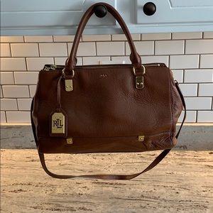 Lauren Ralph Lauren purse with crossbody strap